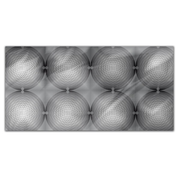 Hypnotic Circle Shine Rectangle Tablecloth