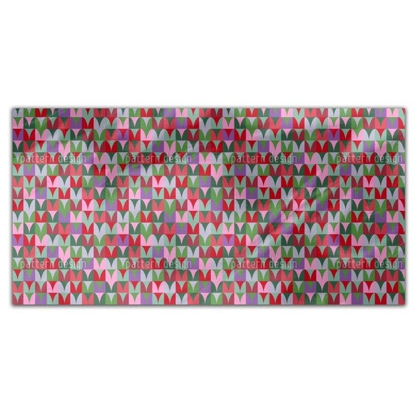 Heart Fields Rectangle Tablecloth