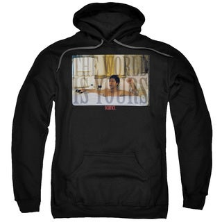 Scarface/Bathtub Adult Pull-Over Hoodie in Black
