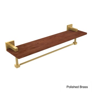 Allied Brass Montero Collection Brass Ironwood Shelf with Towel Bar (More options available)