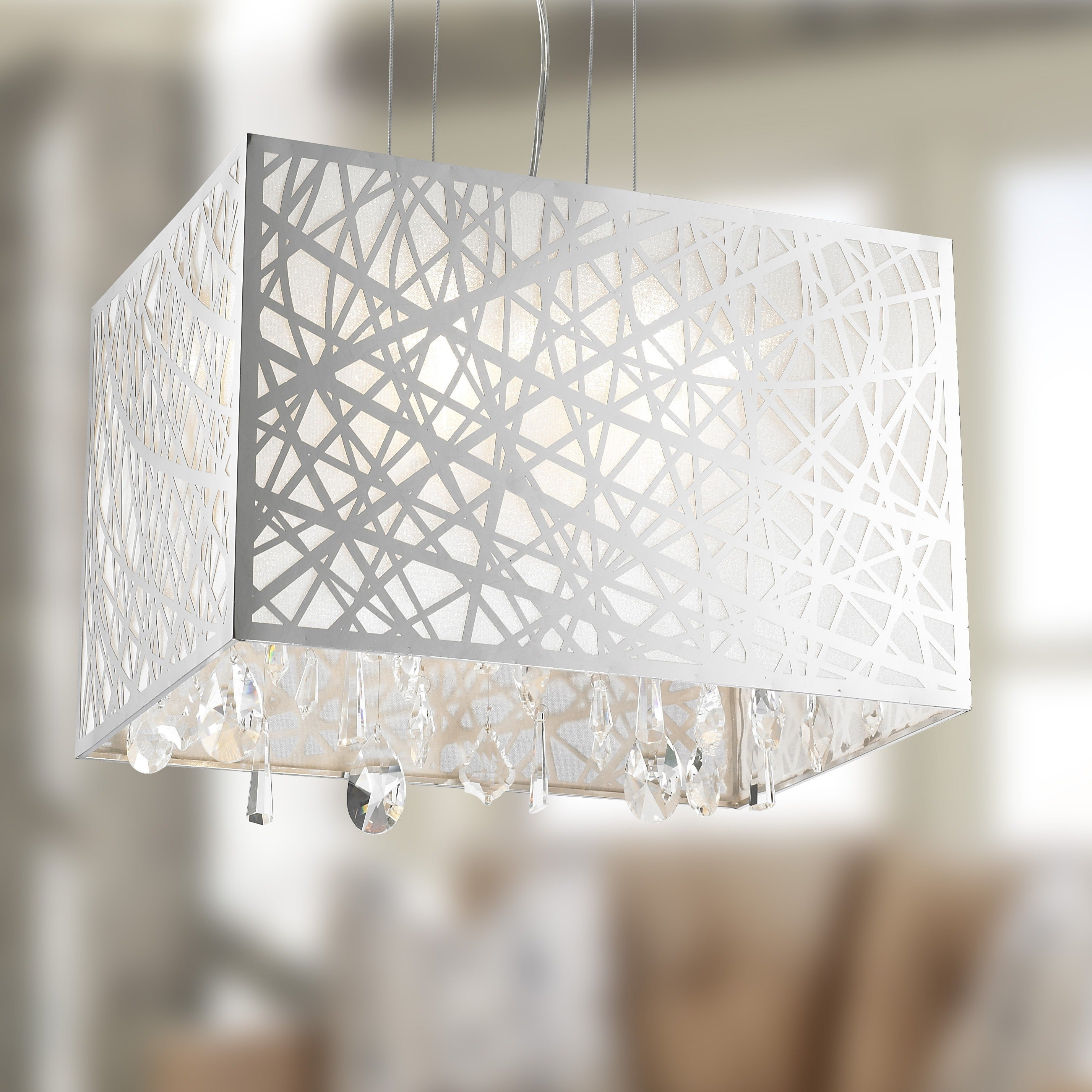 Brilliance Lighting and Chandeliers High Gloss Modern 4-l...