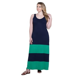 Sealed with a Kiss Women's Plus Size Bridget Maxi Dress