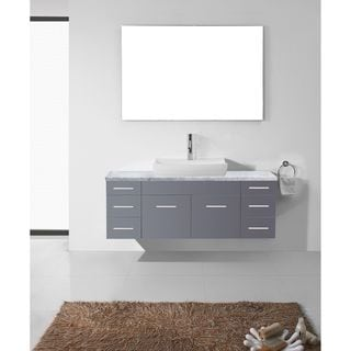 Magnificent Tiled Baths Showers Thick Tall Bathroom Vanity Height Solid Italian Bathroom Design Ideas Clean Bathroom Sink Drain Trap Old Kitchen Bath Design Center Bedford DarkBathroom Fitting Costs Homebase Virtu USA Biagio 56 Inch Single Bathroom Vanity Cabinet Set In ..