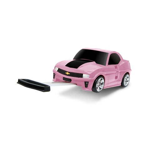 Chevrolet Camaro Kids' Princess Pink 3-in-1 Carry-on Rolling Suitcase