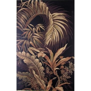 Sparta TA07 Midnight Rainforest Rug (5'3 x 8'3)