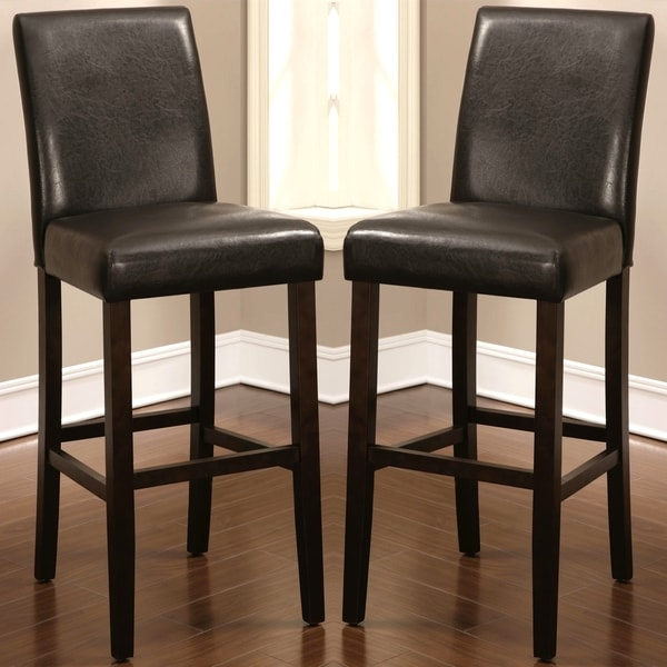Shop Tremblant Casual Parson Style Bar Stools Set Of 2 Free Shipping Today