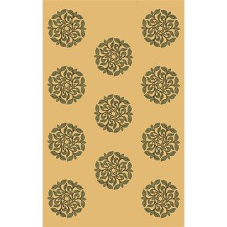 Horizons 5715 Sage Mosaic Rug (3'4 x 4'11)