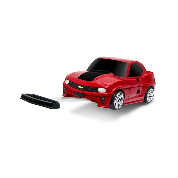 Chevrolet Camaro Kid's 3-in-1 Hot Red Rolling Suitcase