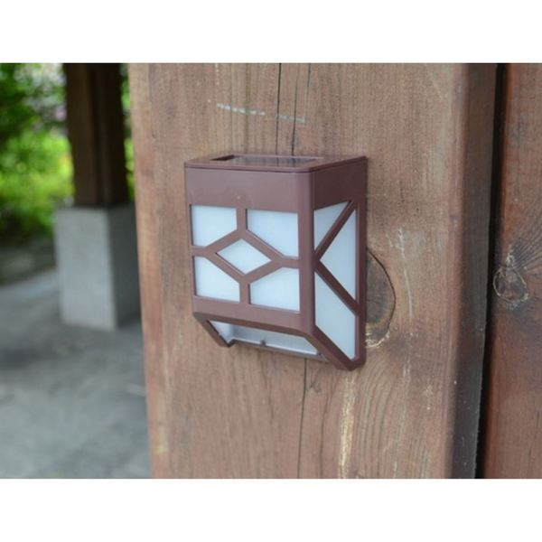 Blue Solar Wall Lights : Brown Plastic Solar-powered Wall Sconce Motion Light - Free Shipping On Orders Over USD 45 ...