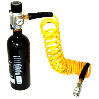 Stainless Steel CO2 125-psi Regulator With Hose Kit for Air Tools