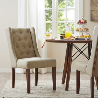 Madison Park Aida Cream Dining Chair (Set of 2)