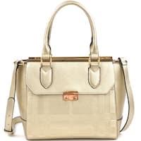 Dasein Fashion Satchel Handbag with Shoulder Strap