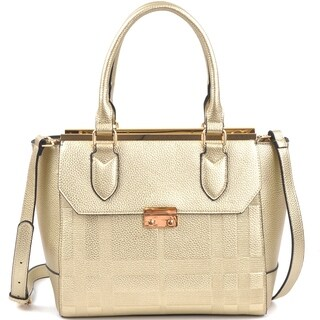 Dasein Fashion Satchel Handbag with Shoulder Strap (More options available)