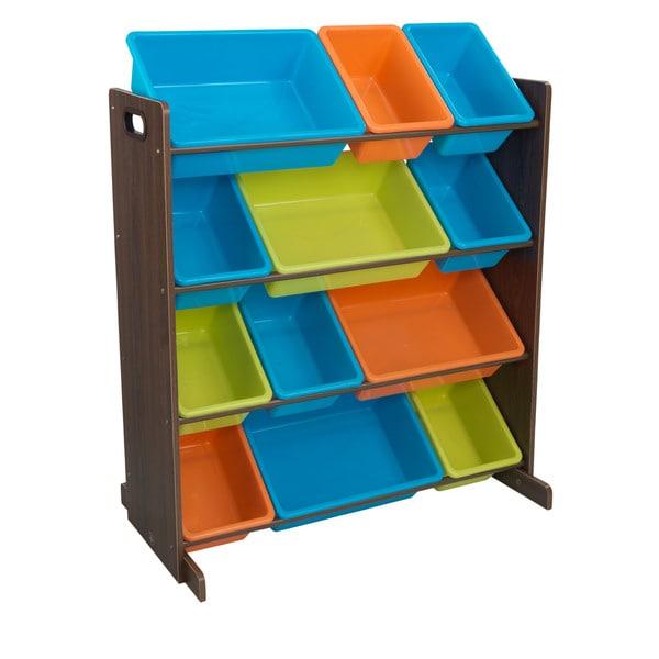 KidKraft Sort It and Store It Storage Bin Unit