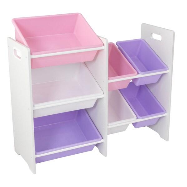 KidKraft Sort It and Store It 7-bin Plastic Storage Unit