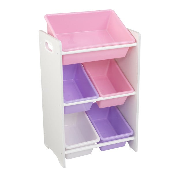KidKraft 5-bin Storage Unit  sc 1 st  Overstock.com & Shop KidKraft 5-bin Storage Unit - Free Shipping On Orders Over $45 ...