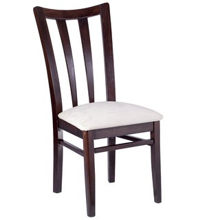 Park Piazza Walnut Wood Dining Chairs (Set of 2)