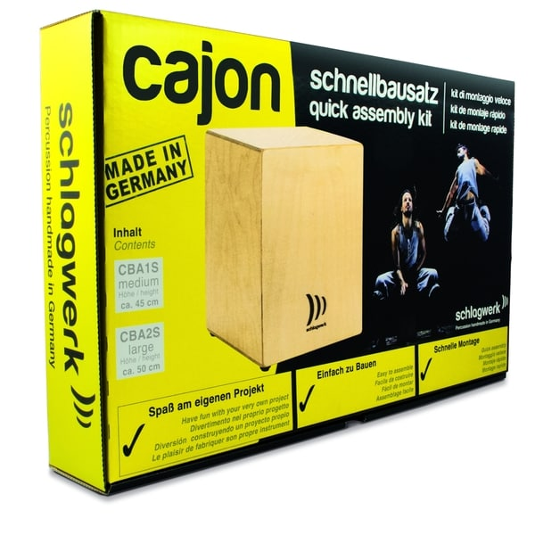 Schlagwerk MyCajon Medium Construction Kit