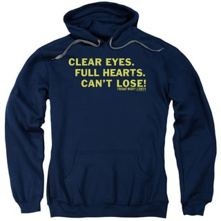 Friday Night Lights/Clear Eyes Adult Pull-Over Hoodie in Navy