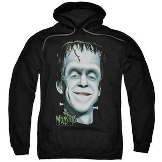 The Munsters/Herman's Head Adult Pull-Over Hoodie in Black