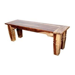 Porter Taos Sustainable Sheesham 57-inch Dining Bench
