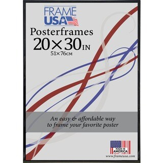 Foamcore Black, Clear, Gold, or Silver Plastic 20-inch x 30-inch Poster Frame
