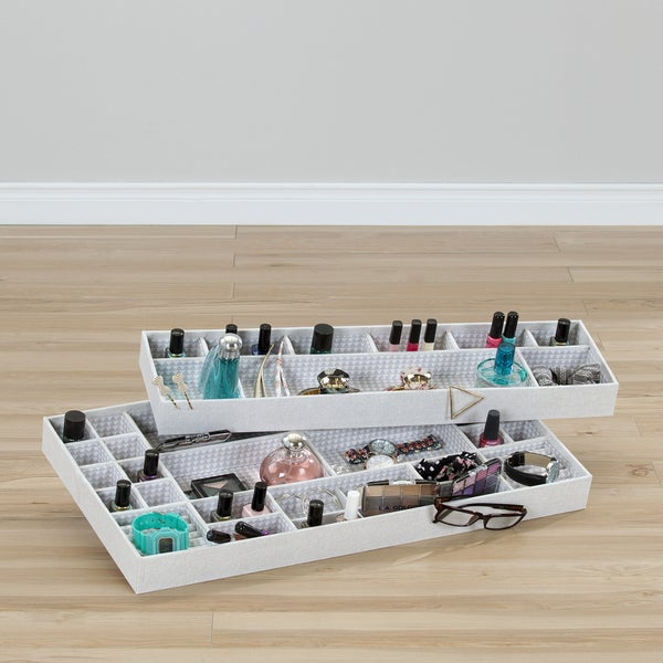 South Shore Storit Triangles Jewelry Drawer Organizers (Pack of 2). Opens flyout.