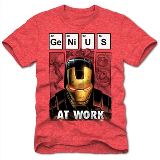 Men's Marvel Ironman Genius Short-seeve Tee