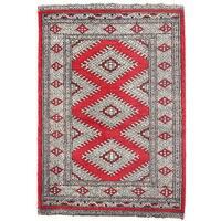 Handmade Herat Oriental Pakistani Bokhara Wool Rug - 2'2 x 3'1 (Pakistan)