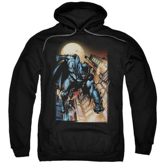 Batman/The Dark Knight #1 Adult Pull-Over Hoodie in Black