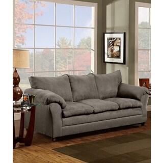 Sofa Trendz Grey/Chocolate/Taupe Microfiber Sofa
