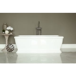 Signature White Acrylic Freestanding Bath Tub