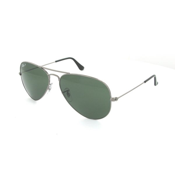 ray ban aviator 3025 gunmetal polarized