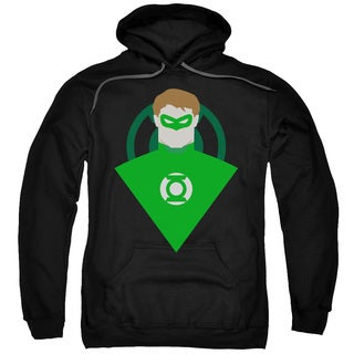 DC/Simple Gl Adult Pull-Over Hoodie in Black