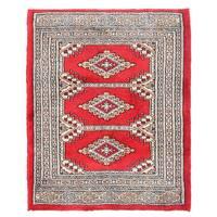 Herat Oriental Pakistani Hand-knotted Bokhara Wool Rug (2'2 x 2'8)