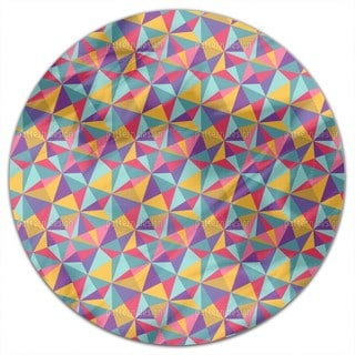 Wild Mosaic Round Tablecloth