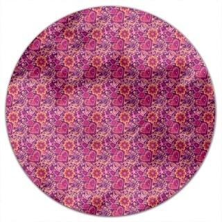 Beloved Bird Paradise Round Tablecloth