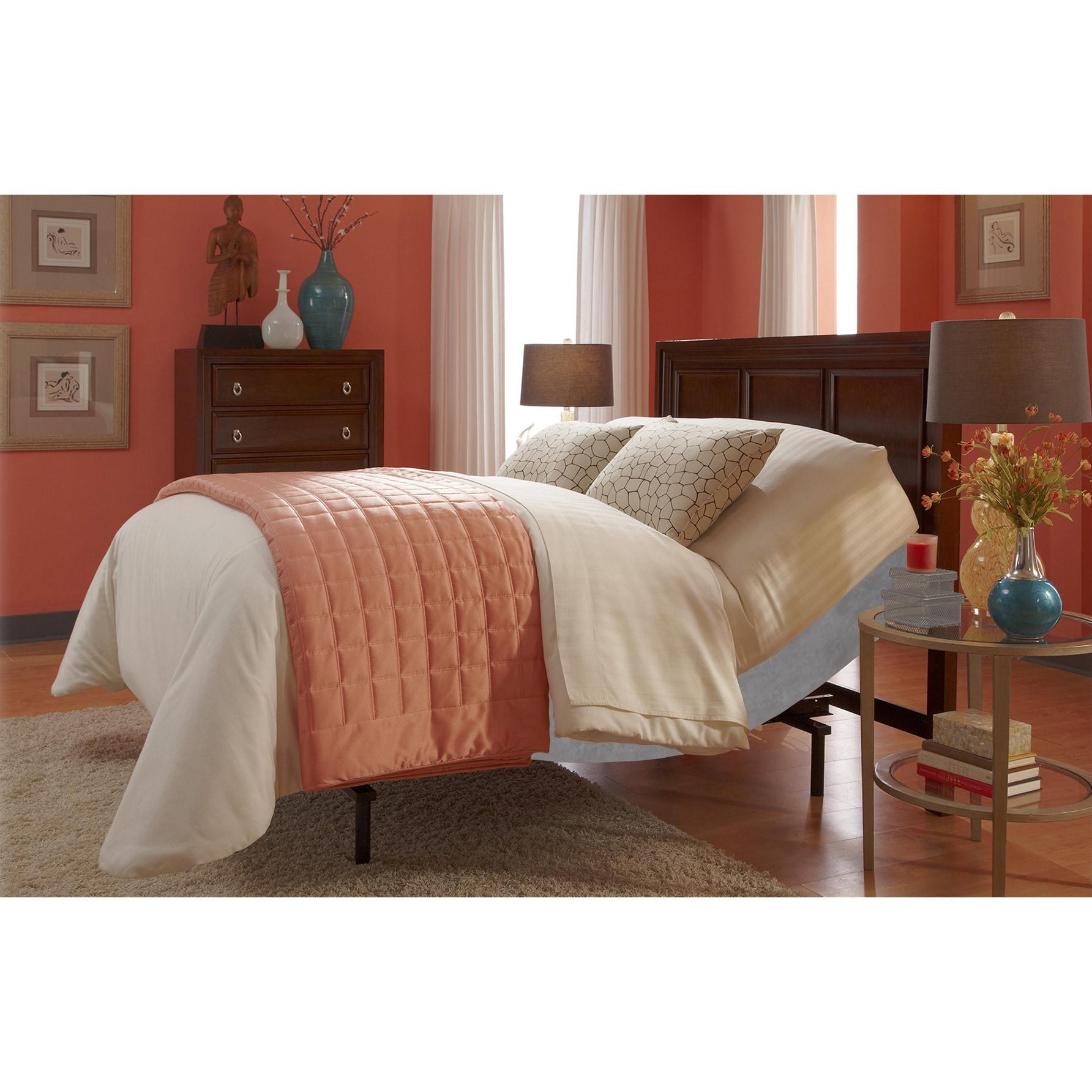 Fashion Bed Group Simplicity 2.0 Grey Finish Adjustable B...