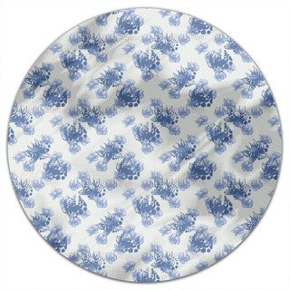Mhlviertel Flowers Round Tablecloth