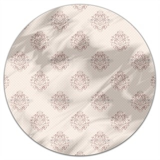 Mademoiselle Pompadour Round Tablecloth