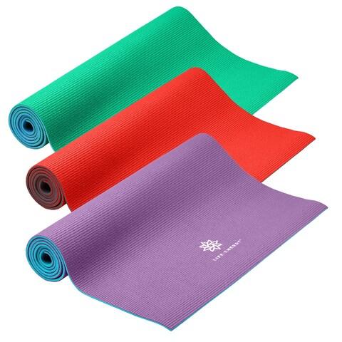 Life Energy 6mm Reversible Yoga Mat