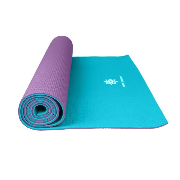 Good Workout Mat: Life Energy 6-millimeter Reversible Yoga Mat