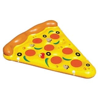 HauteFLoat Inflatable Pizza Pool Tube|https://ak1.ostkcdn.com/images/products/11863236/P18763213.jpg?impolicy=medium