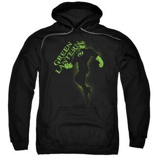 Gl/Lantern Darkness Adult Pull-Over Hoodie in Black