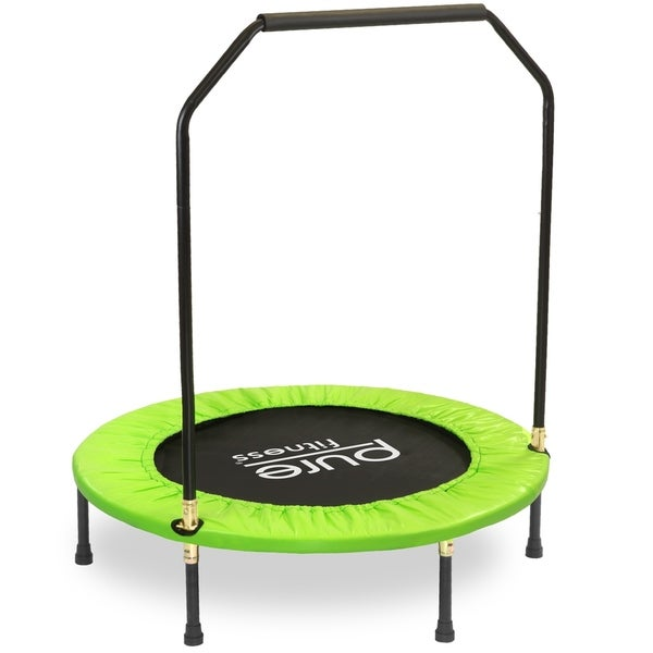Shop Pure Fitness 40-inch Exercise Mini Trampoline With