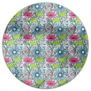 Nostalgic Garden Round Tablecloth