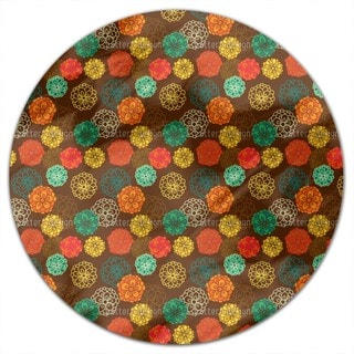 Zinnia Boheme Round Tablecloth