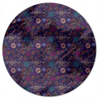 Flowerdance Round Tablecloth