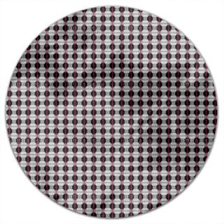 English Squares Round Tablecloth