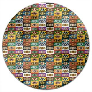 Apache Patchwork Round Tablecloth
